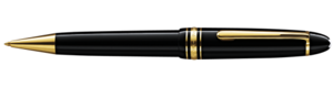 Montblanc Le Grand Meisterstuck kuglepen Sort 10456 [119a]